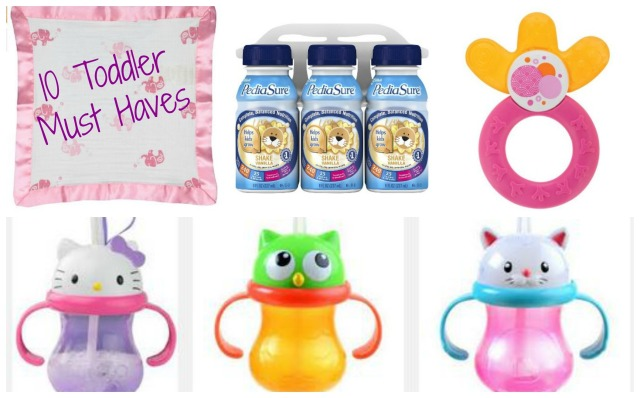 10 Toddler Must Haves