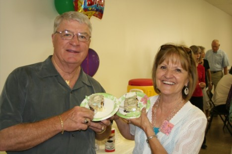 From their 70th birthday party.